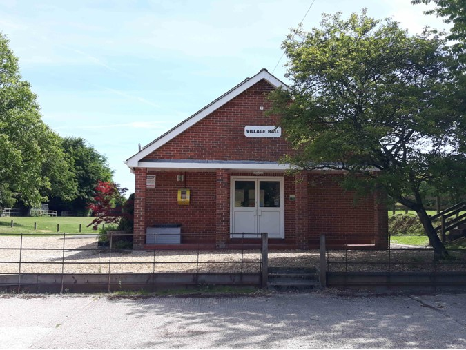 Front of Milton Lilbourne village hall