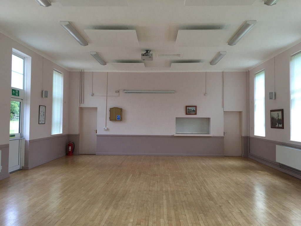 Inside Milton Lilbourne Village Hall